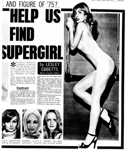 Mirror Supergirl ad