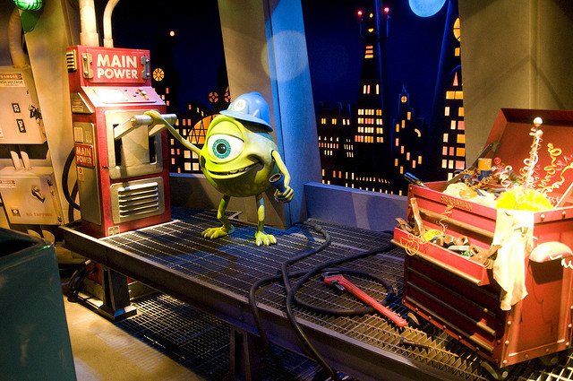 Monsters, Inc. Ride and Go Seek