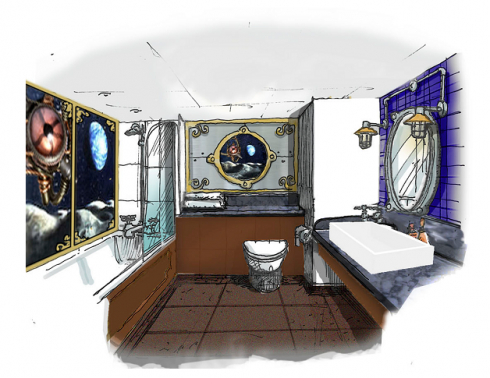 Moon Voyager rooms concept art (2)