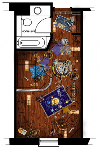 Moon Voyager rooms plan