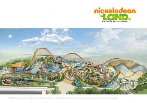 Nickelodeon Land map