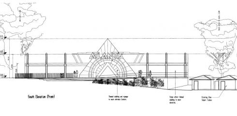 Project Atlantis building drawing