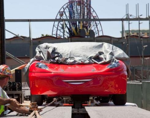 Radiator Springs Racers test vehicle 2