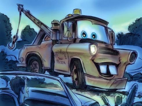 Mater concept art