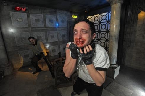 SAW Alive Horror Maze trap image