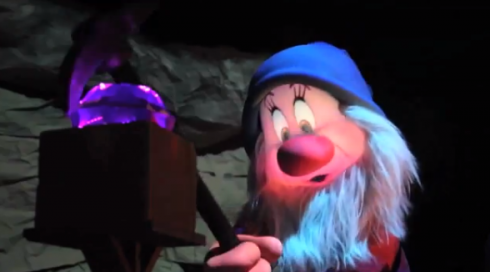 Seven Dwarfs Mine Train character