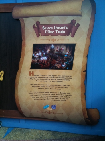 Signs for the new Fantasyland attractions coming in 2012 now up. on Twitpic