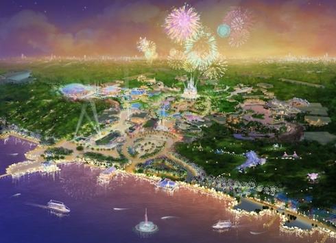 Shanghai Disneyland concept art 1