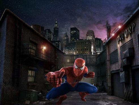 Spiderman render