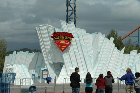 Superman: Escape from Krypton ice cave