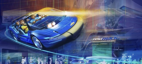 Test Track Chevrolet concept art