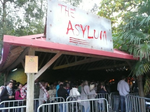 The Asylum entrance