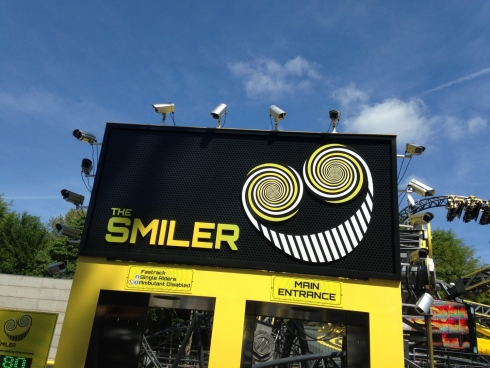 The Smiler entrance