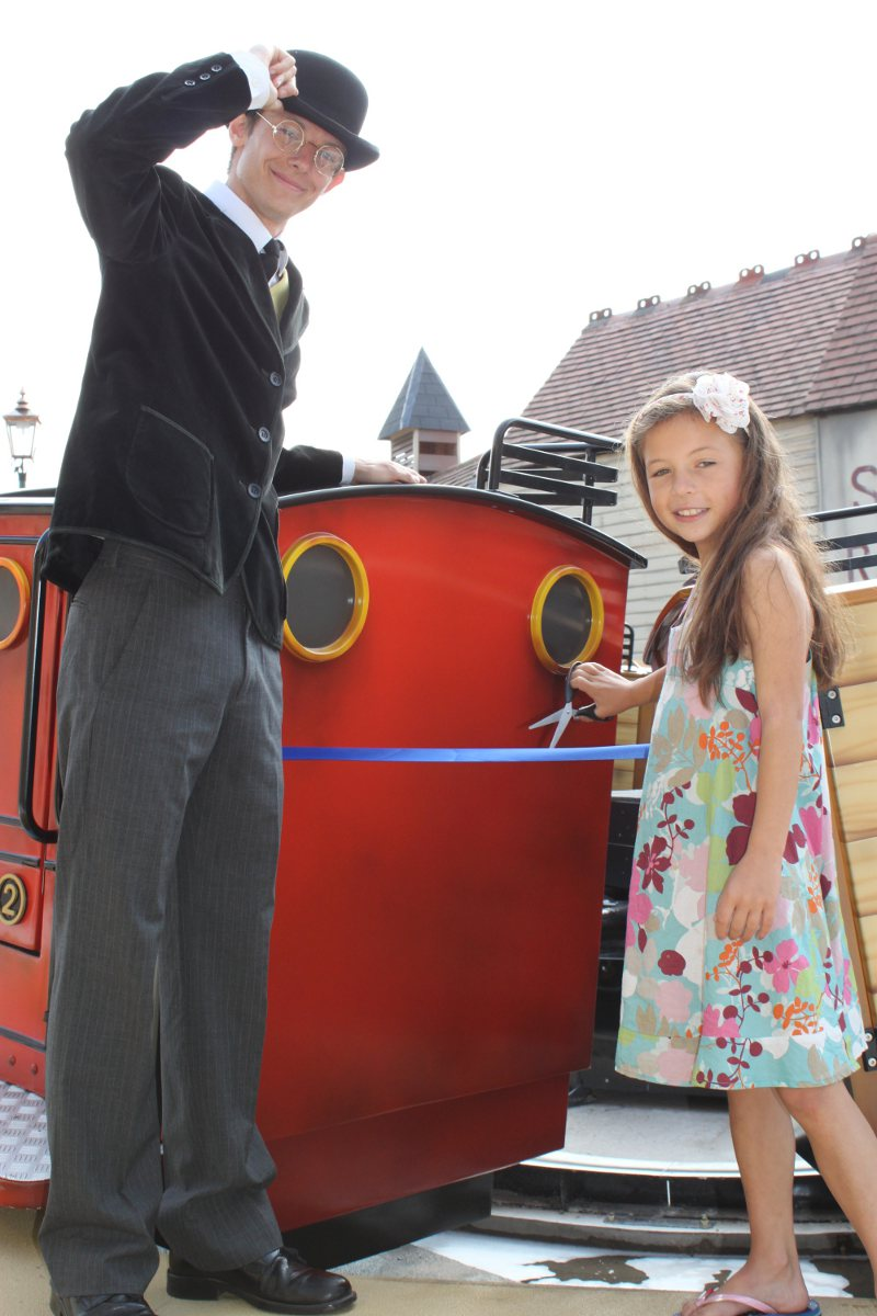 Blue Mountain Engines opening at Drayton Manor