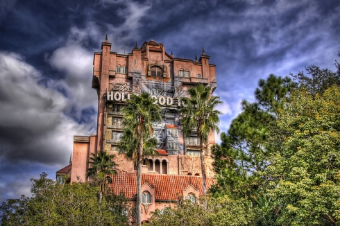 Tower of Terror Exterior (2)