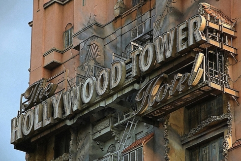 Tower of Terror close-up