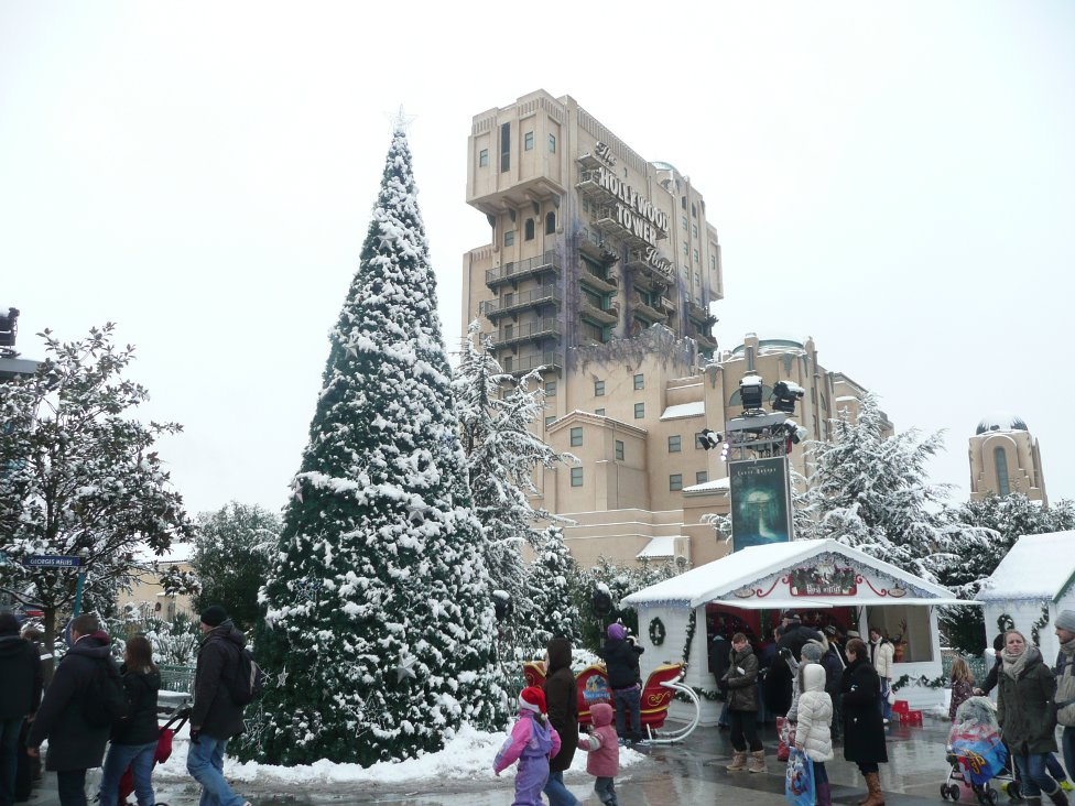 Tower of Terror at Christmas