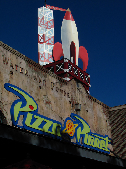 Toy Story Pizza Planet