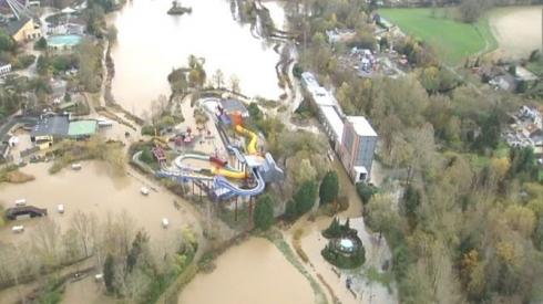 Walibi Belgium flood image 2
