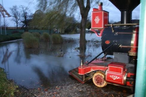 Walibi Belgium flood image 3