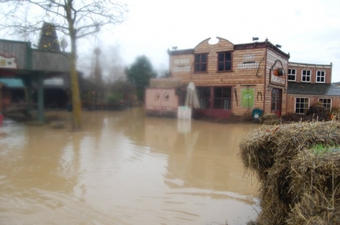 Walibi Belgium flood image 1