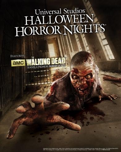Walking Dead maze poster