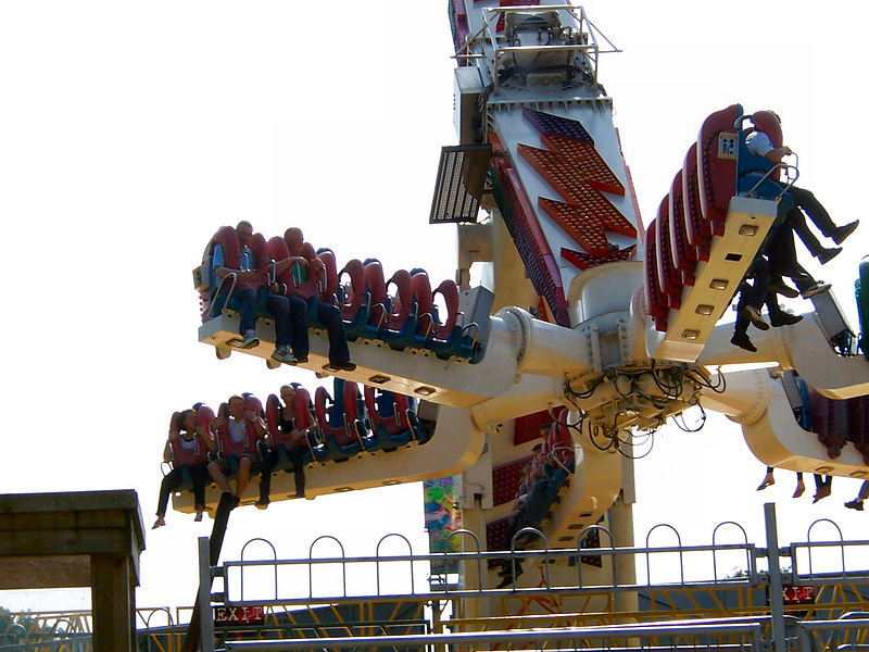 Whirlwind at Lightwater Valley