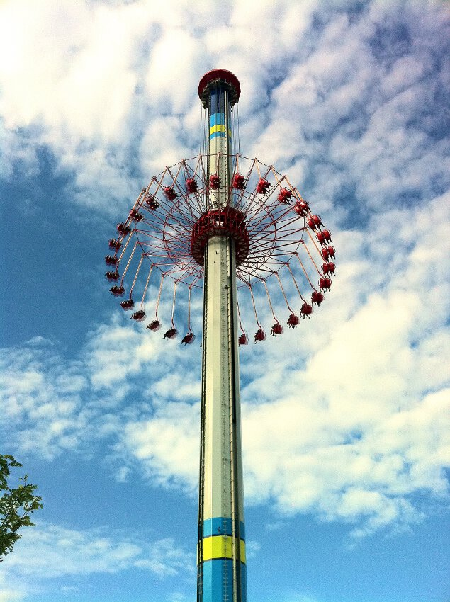 WindSeeker at Cedar Point (2)