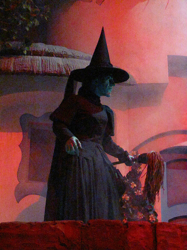 The Wicked Witch of the West in the Great Movie Ride