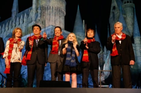 Announcing the Japanese Wizarding World in grand style. Image © Universal.