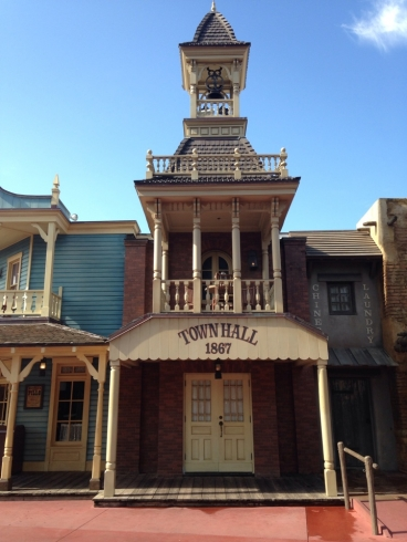 Frontierland Town Hall