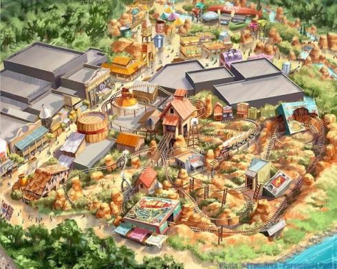 Paramount Park concept art