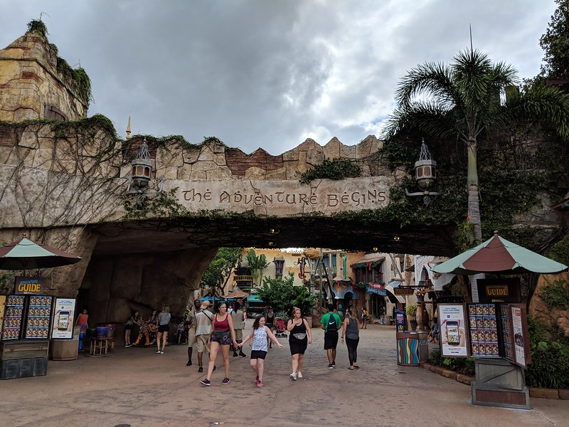 Port of Entry archway