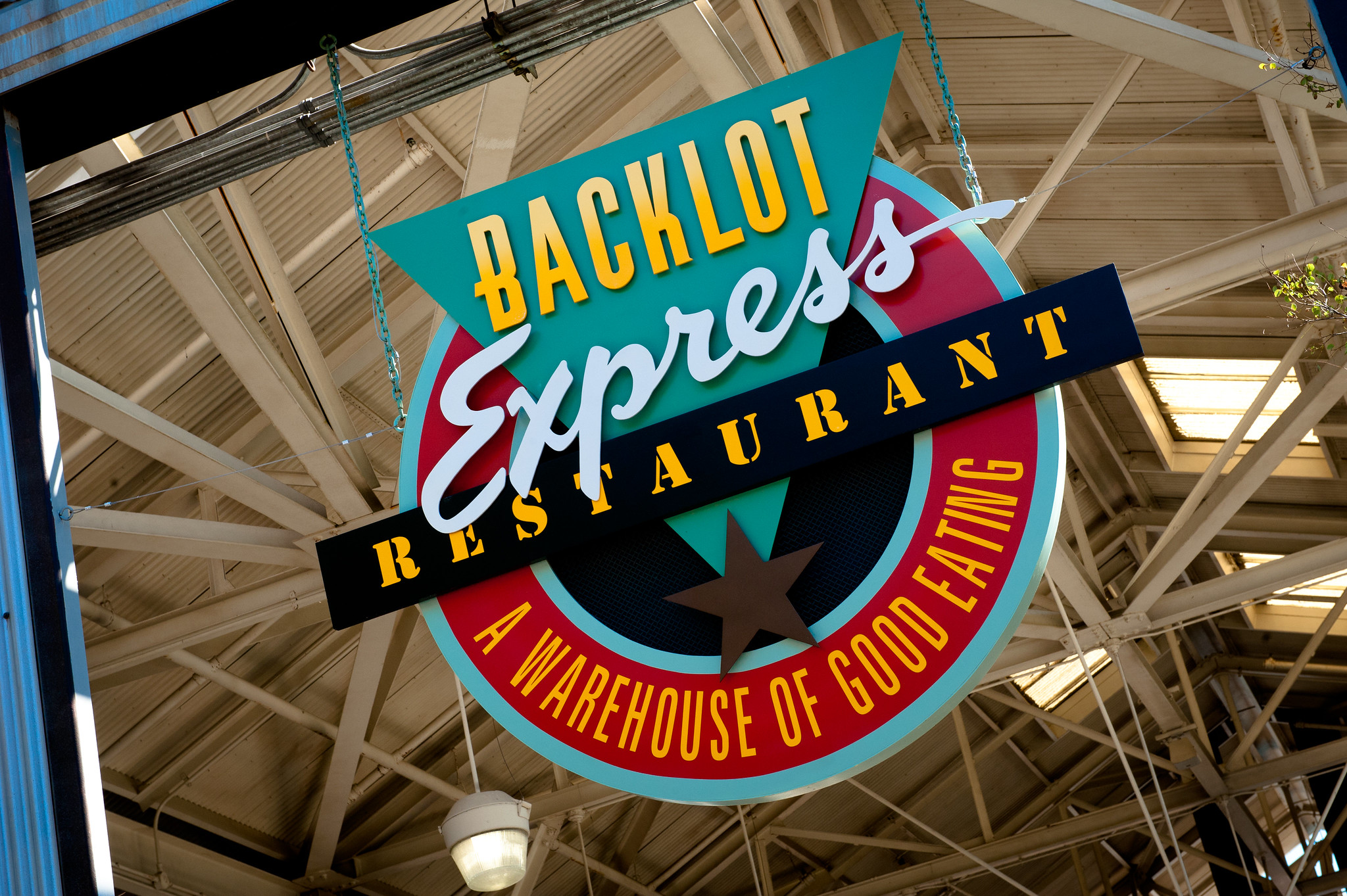 Backlot Express Sign