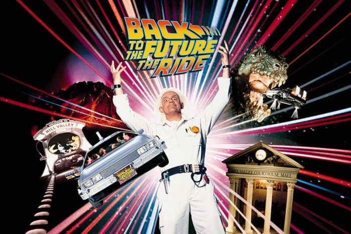 Back to the Future: The Ride still