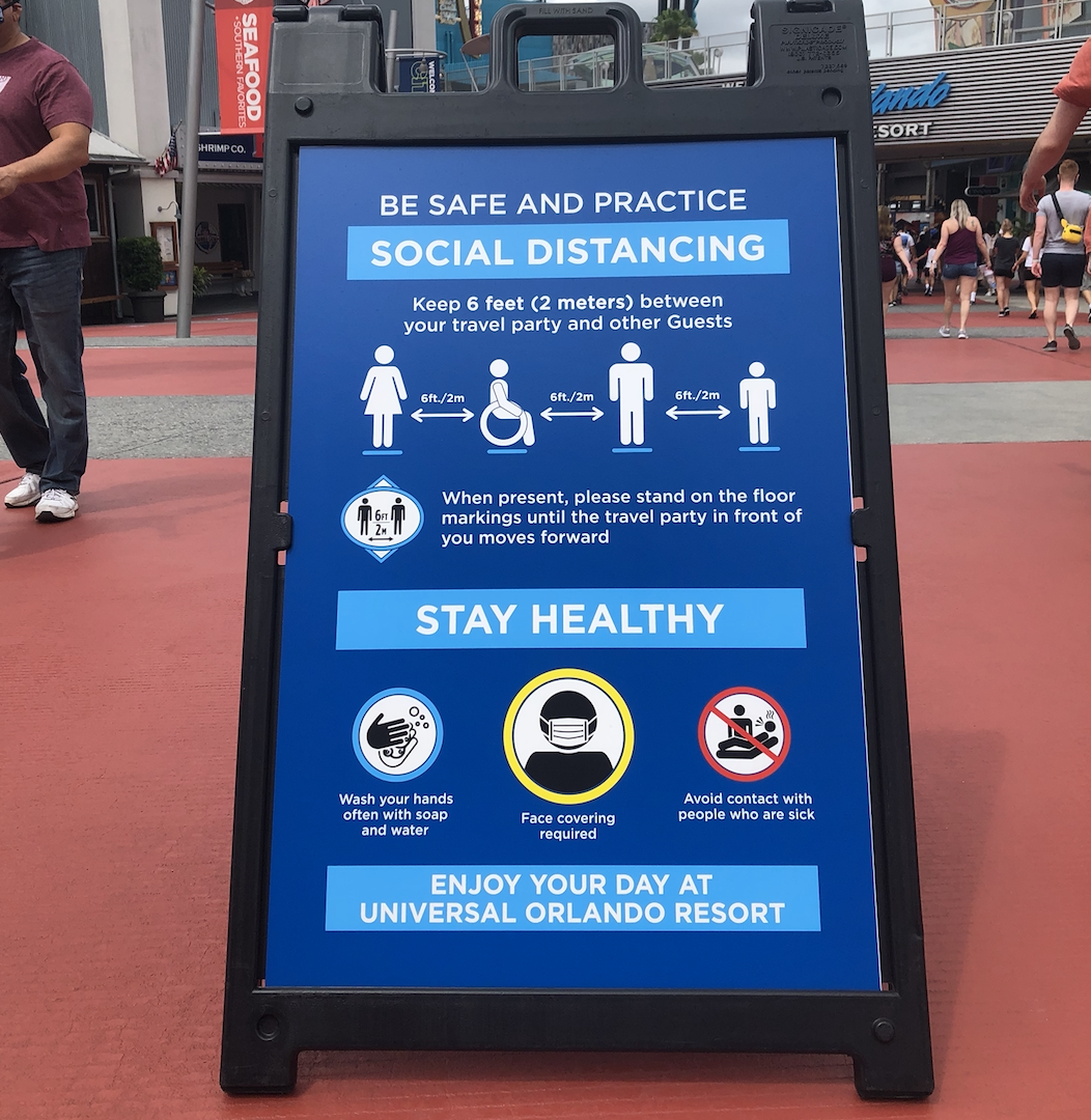 Universal stay safe board