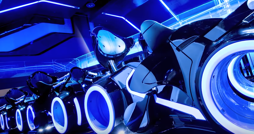 Tron ride, Magic Kingdom