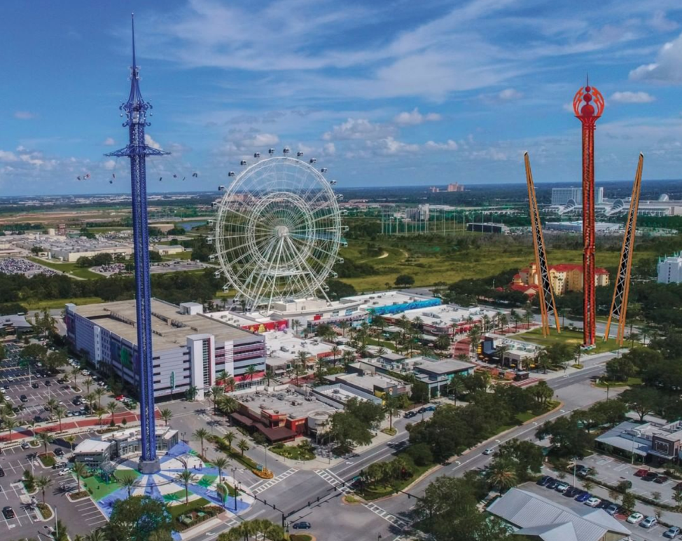 Concept art of ICON's new attractions