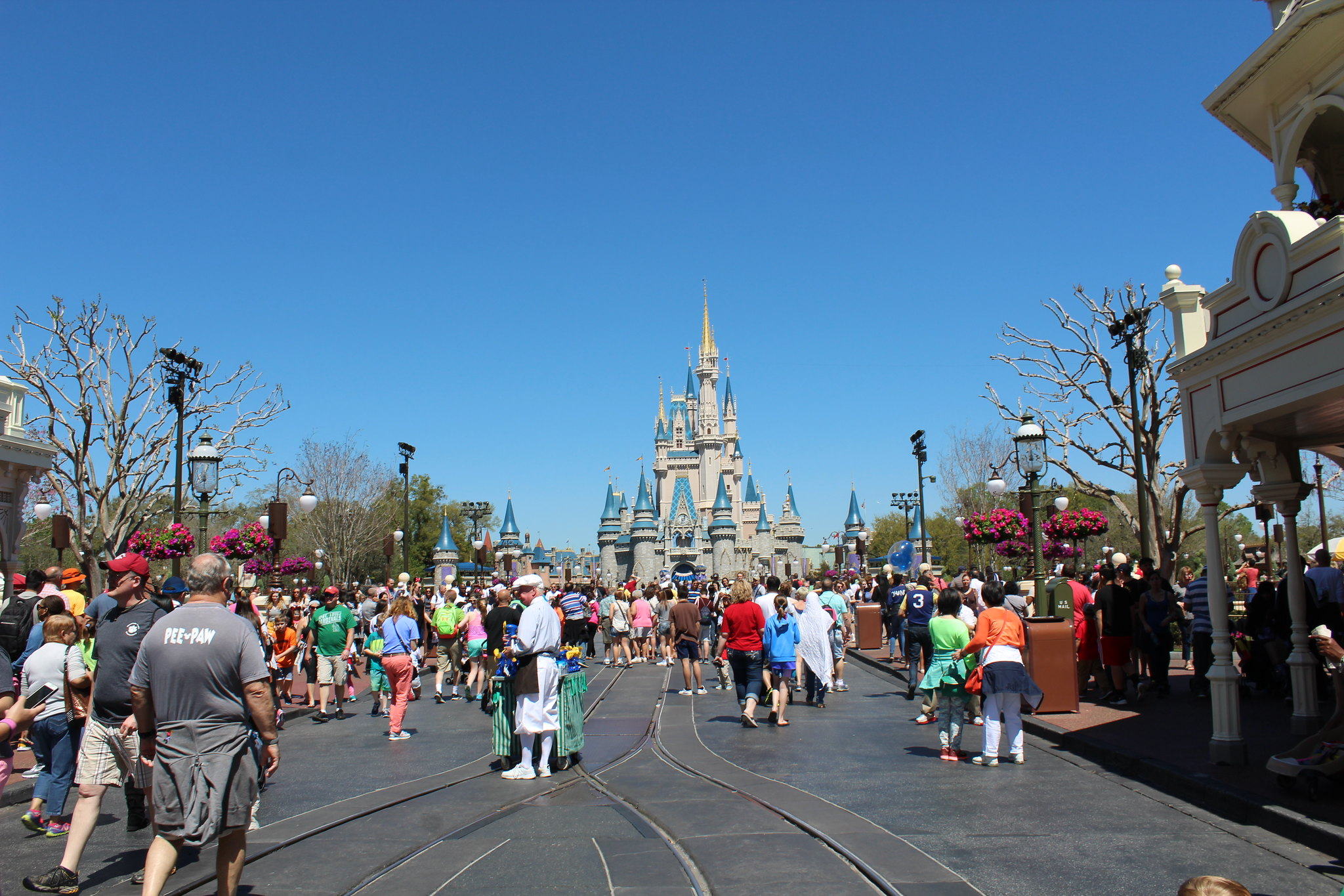 Disney's Magic Kingdom, Theme Park Tourist