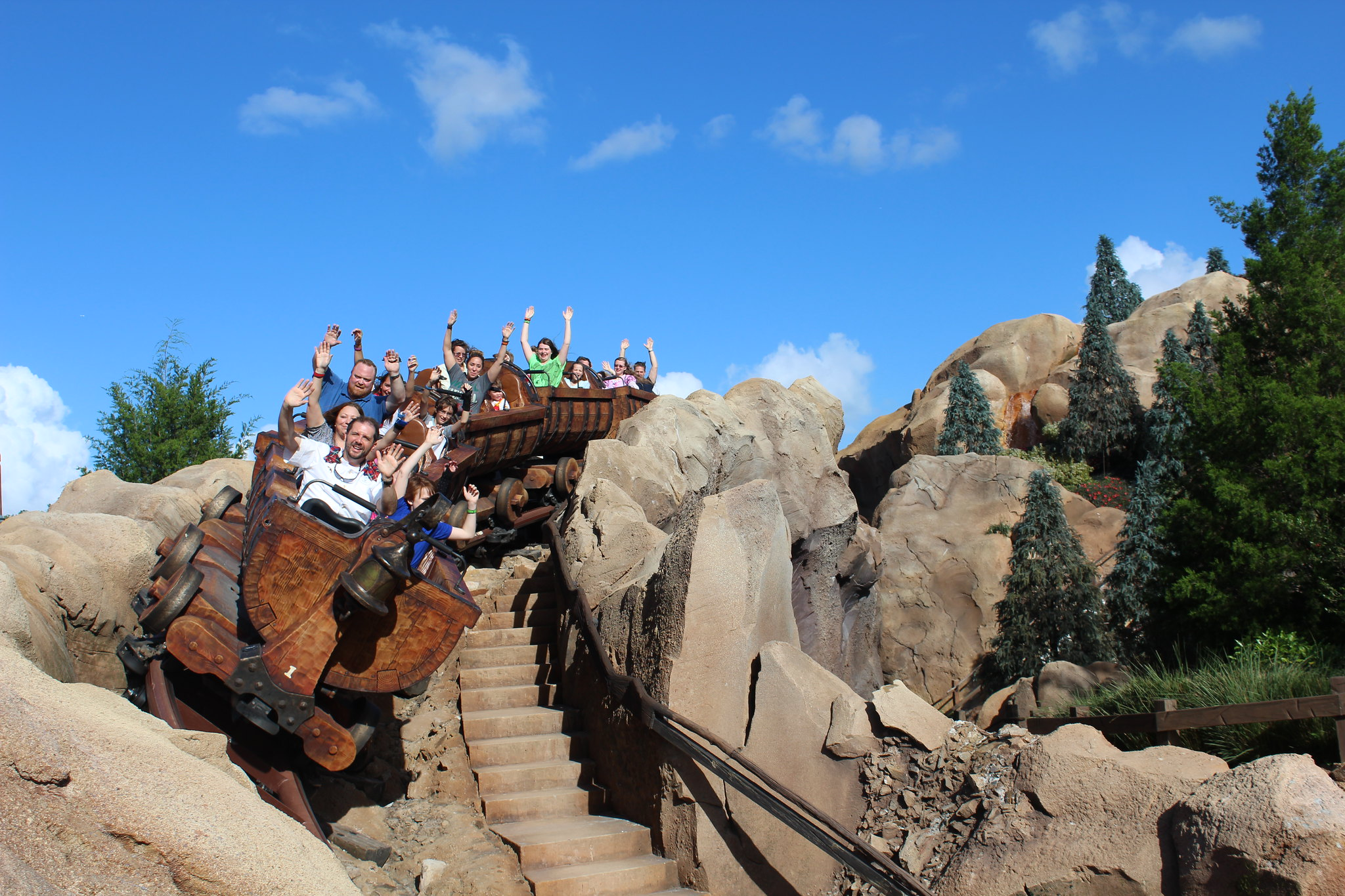 Seven Dwarves mine train, Walt Disney World