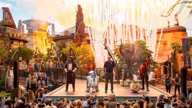 Star Wars Grand Opening Hollywood Studios