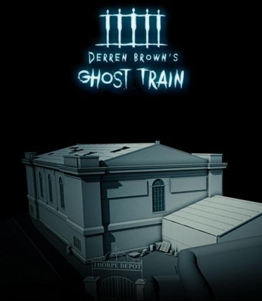 Derren Brown's Ghost Train artwork