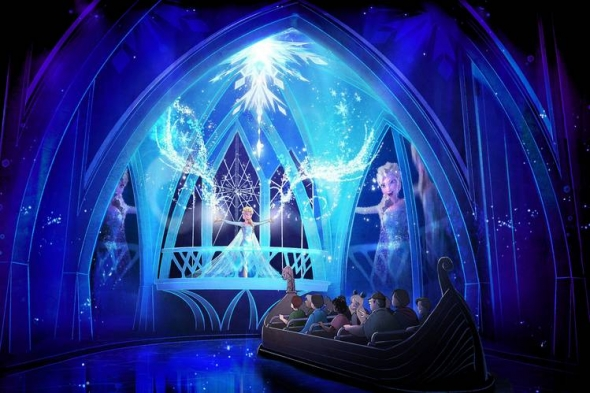 Frozen Ever After artwork