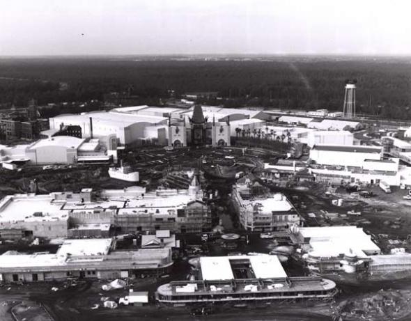 Disney-MGM Studios construction