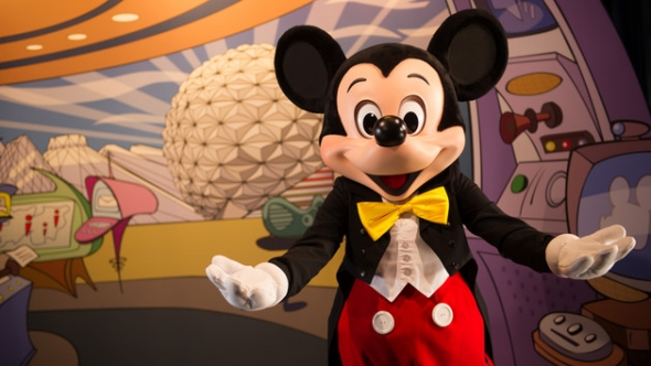 Mickey in Epcot