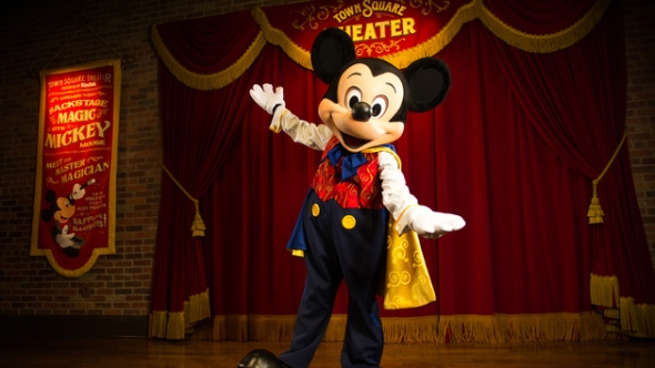 Mickey in Magic Kingdom