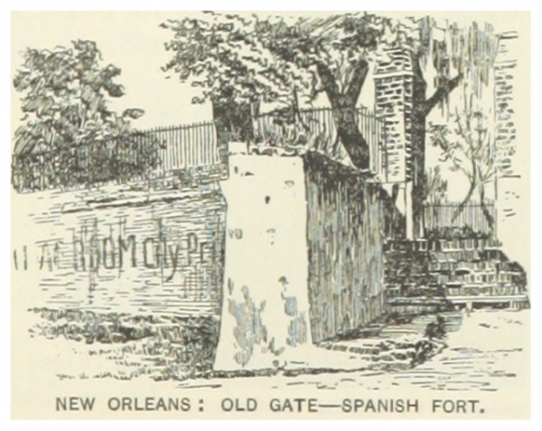 Gate to the Spanish Fort, 1891