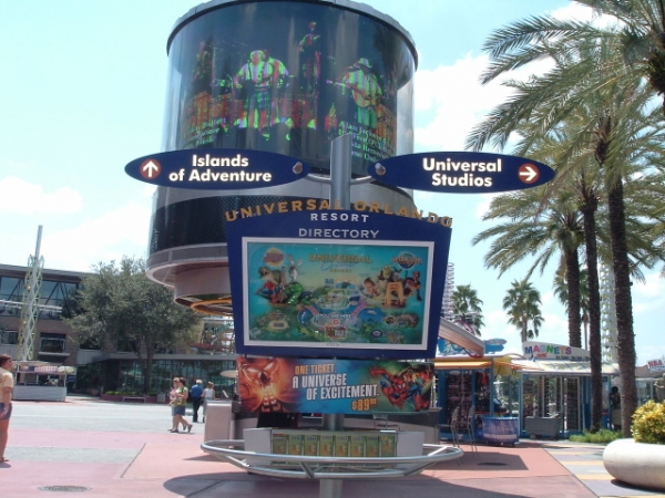 CityWalk Directional Sign