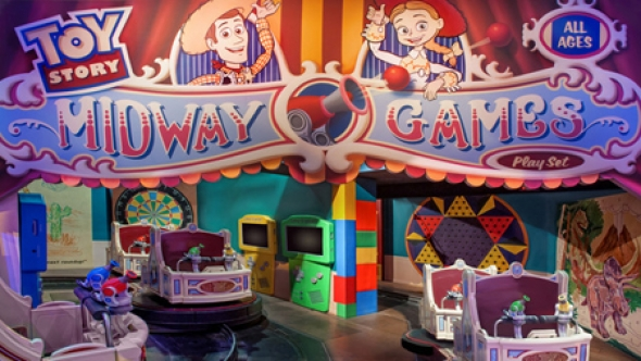 Midway Mania Carts