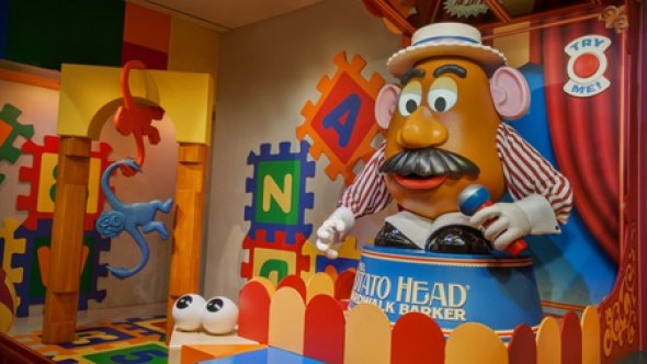 Mr. Potato Head at Midway Mania